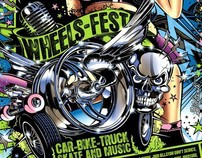 Poster Wheels Fest 2011 - CH