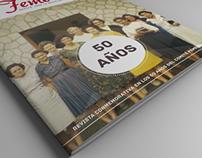 50 aniversario Revista Femenil