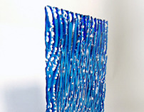 Breat.Kiln formed, slumped andcold-worked glass