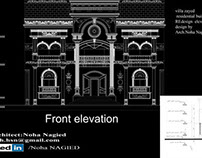elevation redesign-villa zayed