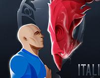 FIR - Various Illustrations on the National Team.