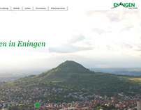 Web Design - Municipality Eningen u.A.