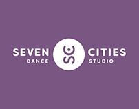 Seven Cities Dance Studio Identity Refresh