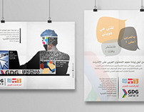 Posters designs for Google and Arab Internet days ..