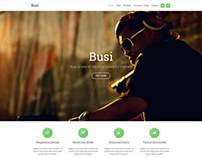 Busi WordPress Theme