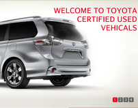 Toyota Car Reseller Mockup