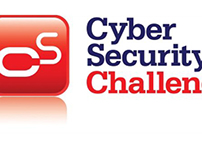 Multimedia backdrop for Cyber Security Challenge