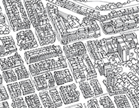 Bird's Eye View Illustrated Maps of London