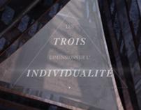 Les trois dimension de l'individualité. (SOUND DESIGN)