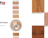 Swatch watch Pantone Skintone concept