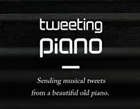 Tweeting Piano, Website renewal (2013)