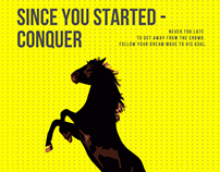 Since You started - conquer.
