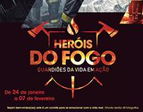 Exposição Heróis do Fogo - Boavista Shopping