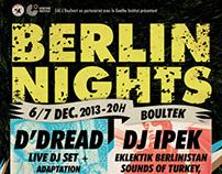 Berlin Nights ✖ DJING ✦ VJING ✦ CINE-CONCERT
