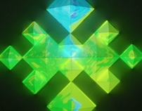 kaleidoscope -projection mapping-