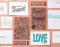 Countless Sayings Photopolymer Stamp Sets