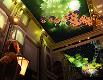 Audience Participation: Playful Projection Ceiling
