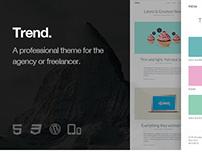 Trend - Responsive WordPress Theme
