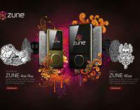 Zune Originals Design Comps
