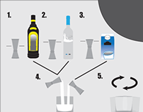 How to use a Jigger - Visual Instructions