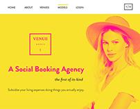 Venue Models | Website (2016)