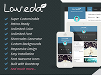 Laveda - Retina Responsive WordPress Blog Theme