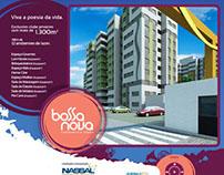 Projeto, desenho e montagem hotsite Bossa Nova