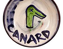 Platos a collection of majolica glazed ceramic plates