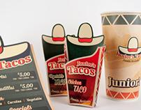 Juniors Tacos Rebranding