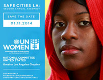 UN Women: Safe Cities LA Event