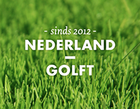Nederland Golft identity and website