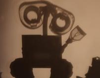 Shadow Art. Walle