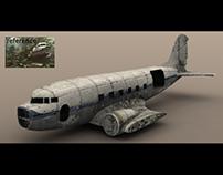 Plane (low poly model)