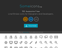 SomeIcons - Free icon set