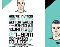 Senior Show Invite