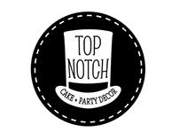 TOP NOTCH CAKE + PARTY DÉCOR