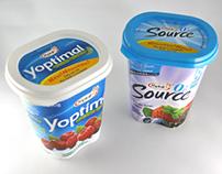 Aliments Ultima  pot de yogourt