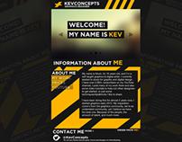 KevConcepts Contest Entry #2 - Web Design