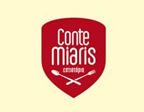 """""""Conte Miaris"""" Restaurant, Corporate Identity Design"""