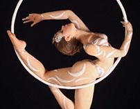 Aerial Hoop miniature sculpture 1:12 scale