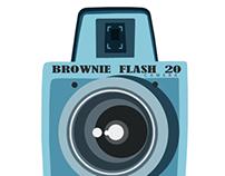Brownie Flash Camera