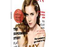 magazine cover - for fashion magazine