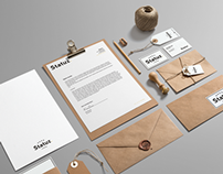 Statuz. - Brand Identity and Website