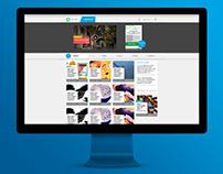 CIRCLE Website Mockup