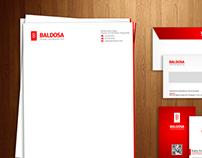 BALDOSA - Calling card, Stationary & Envelope