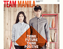 Team Manila 2013 Fall/Holiday Lookbook (Print Ads)