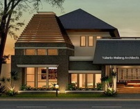 Design Architecture of Luxury House in Surabaya - 2013