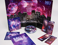M83 Midnight City Single Promotional Packaging