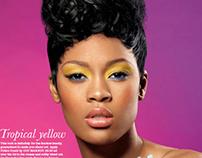 Cover+Beauty story for BlackHair Magazine
