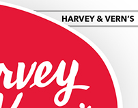 Harvey & Vern's — Branding & Packaging